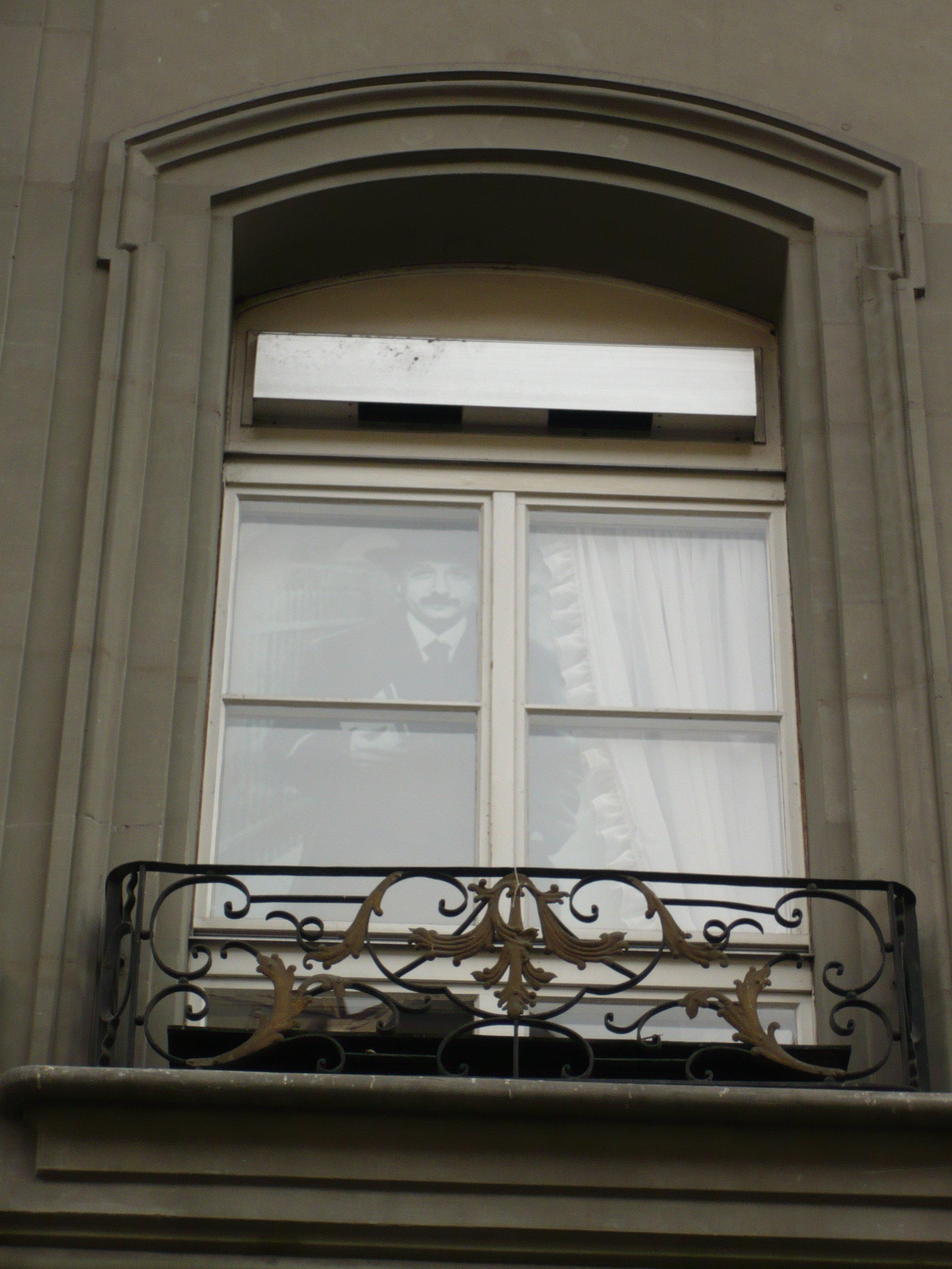 Bern - Albert Einstein is watching you!