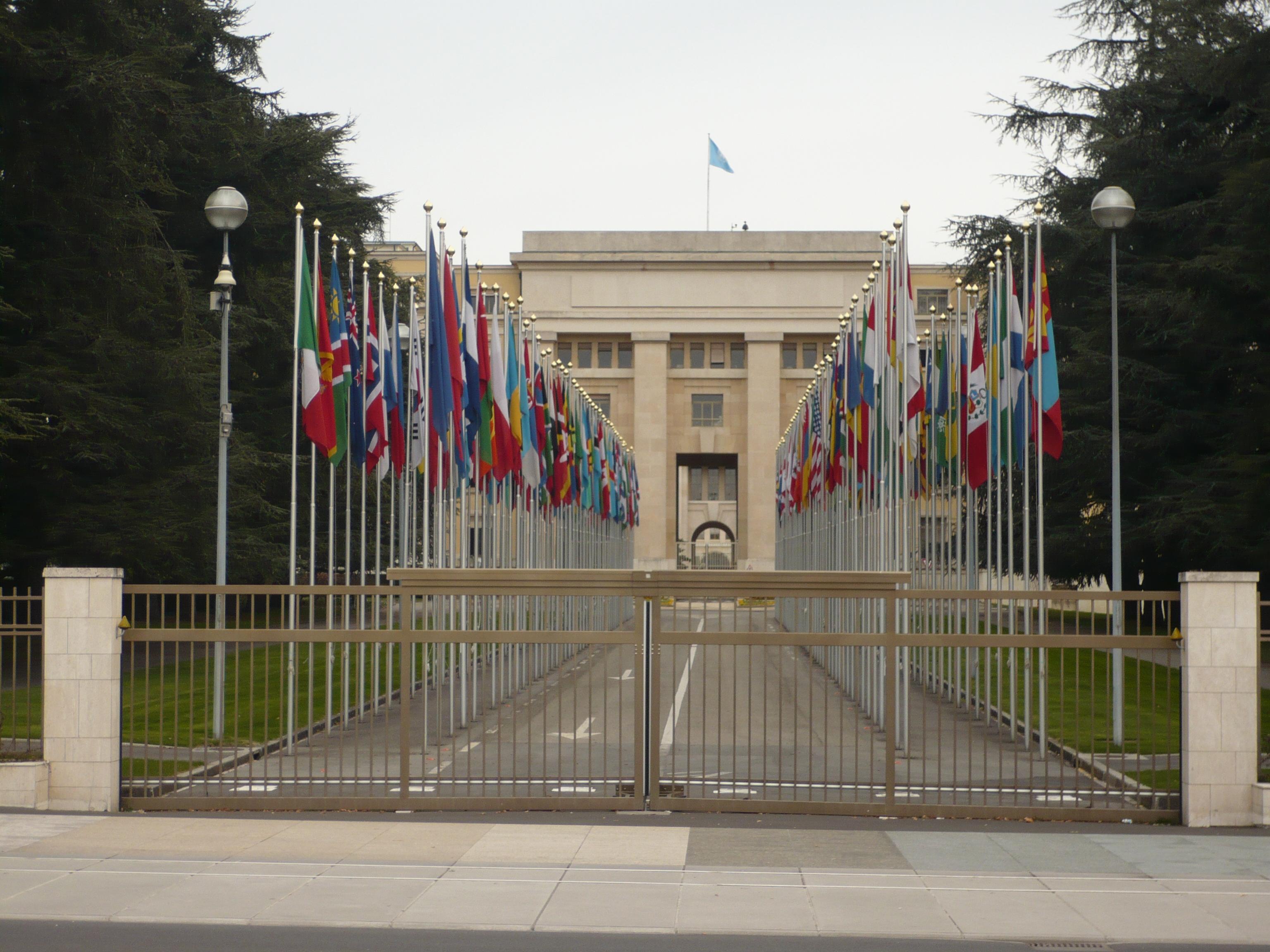 Genève - Palais des Nations