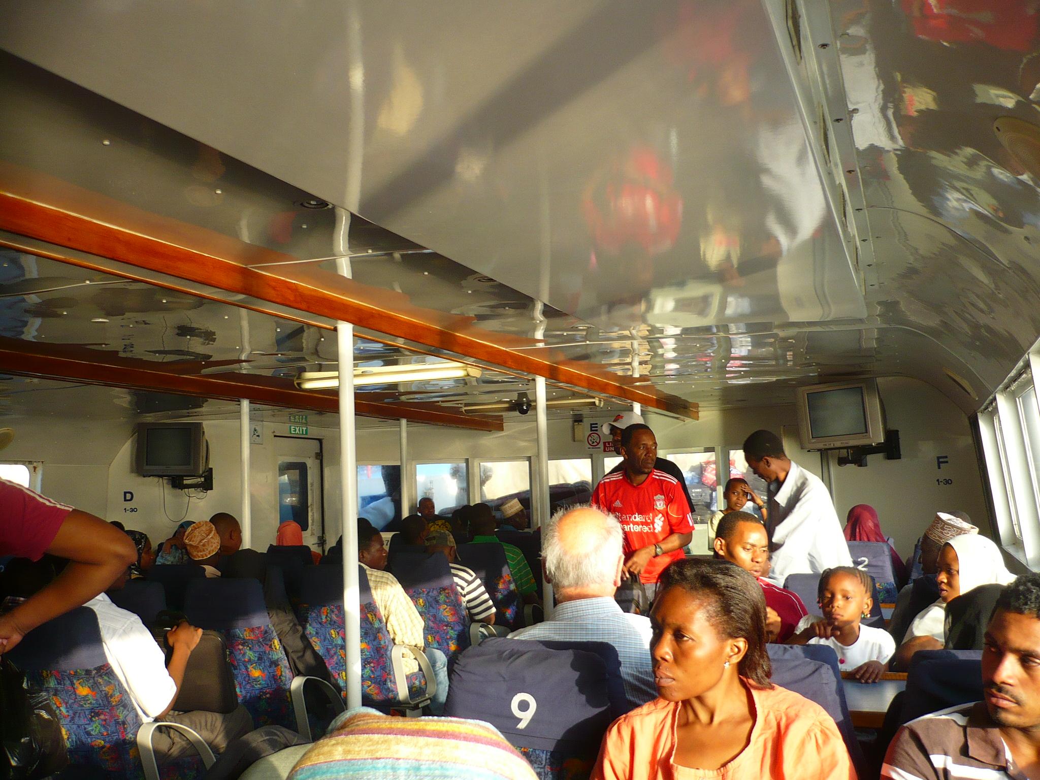 On the way to Zanzibar
