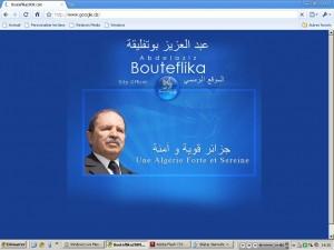 Google Bouteflika