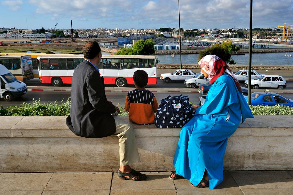 Famille marocaine (Par Olivier Blaise)