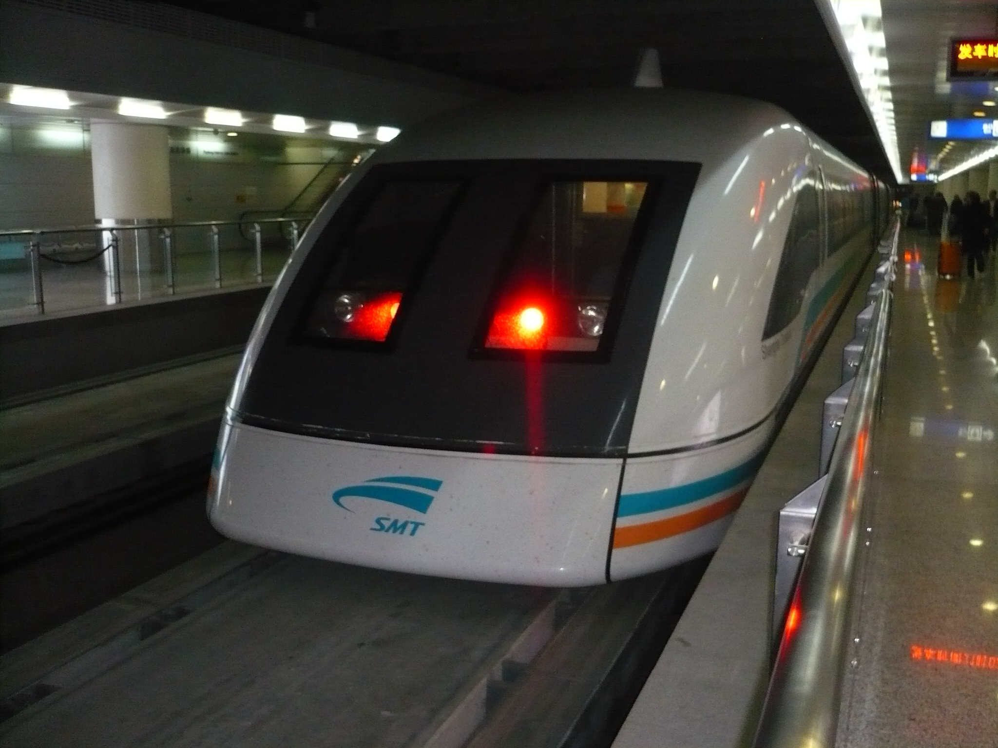 The Maglev - Magnetic Levitation Train to Shanghai airport