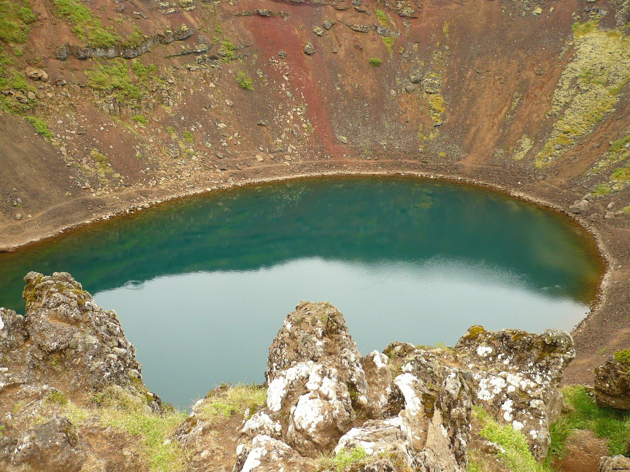 Lac cratère