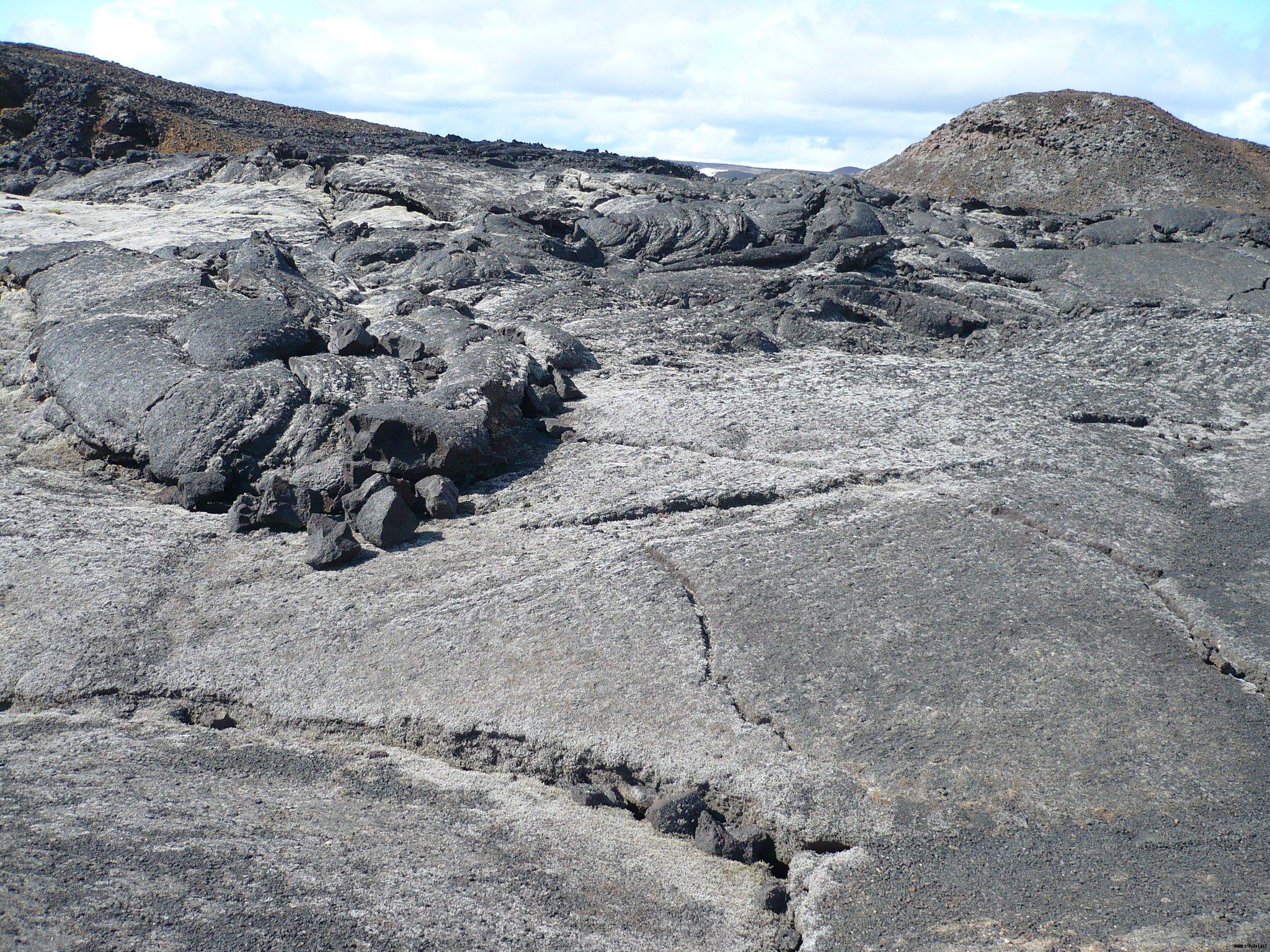 Champs de lave pétrifiée
