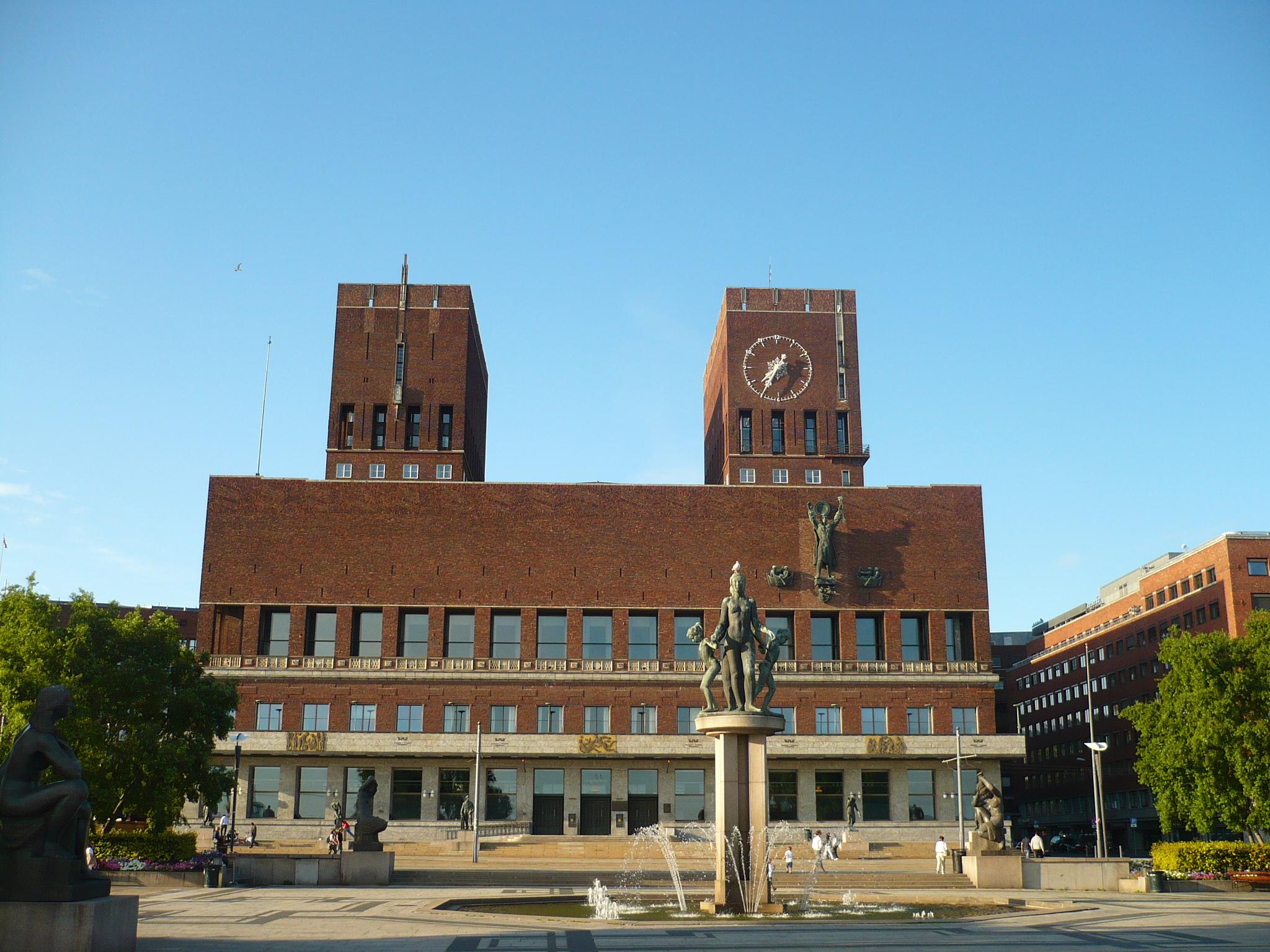 Oslo - The City Hall