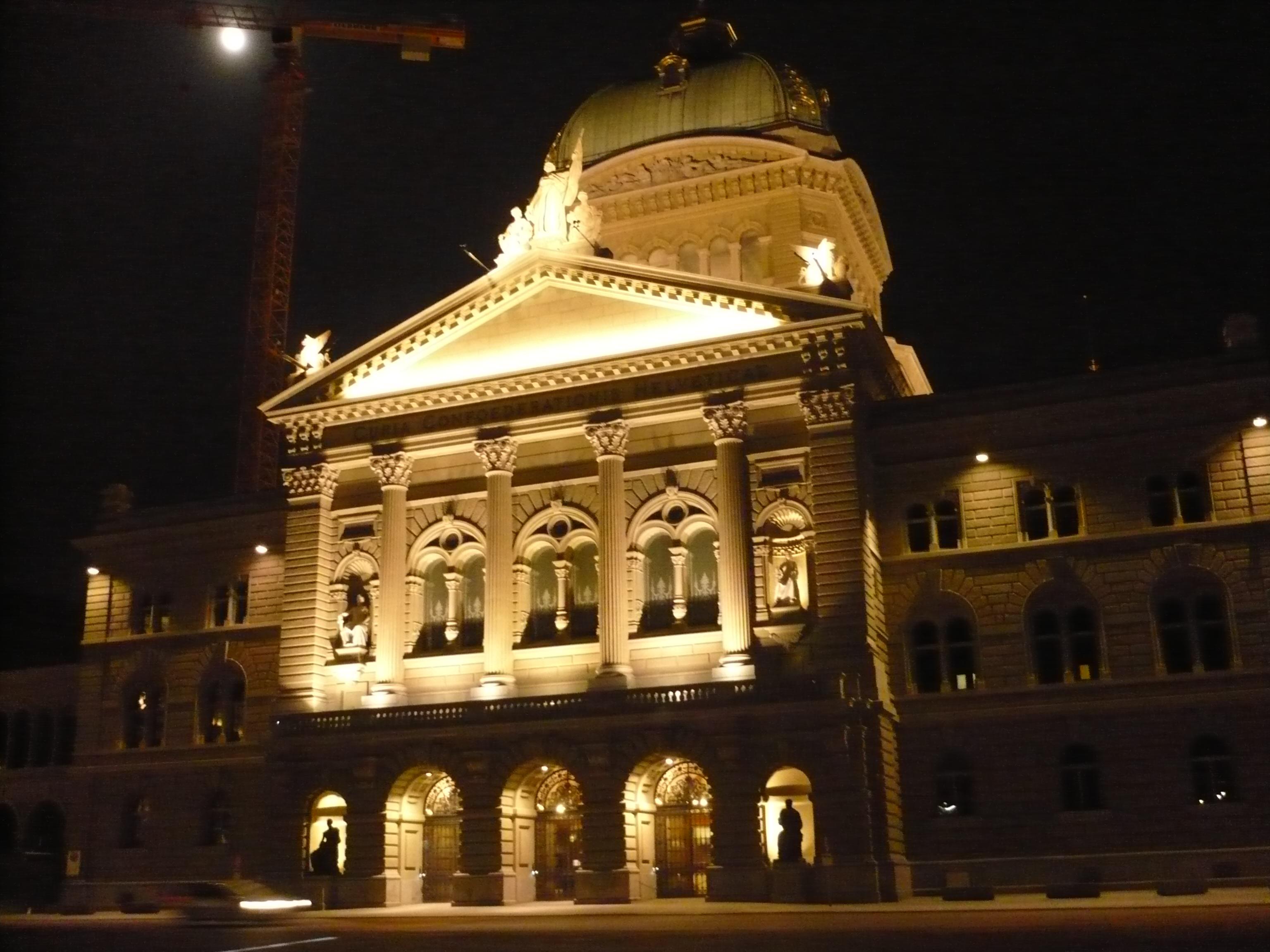Bern - Palais de la Confédération