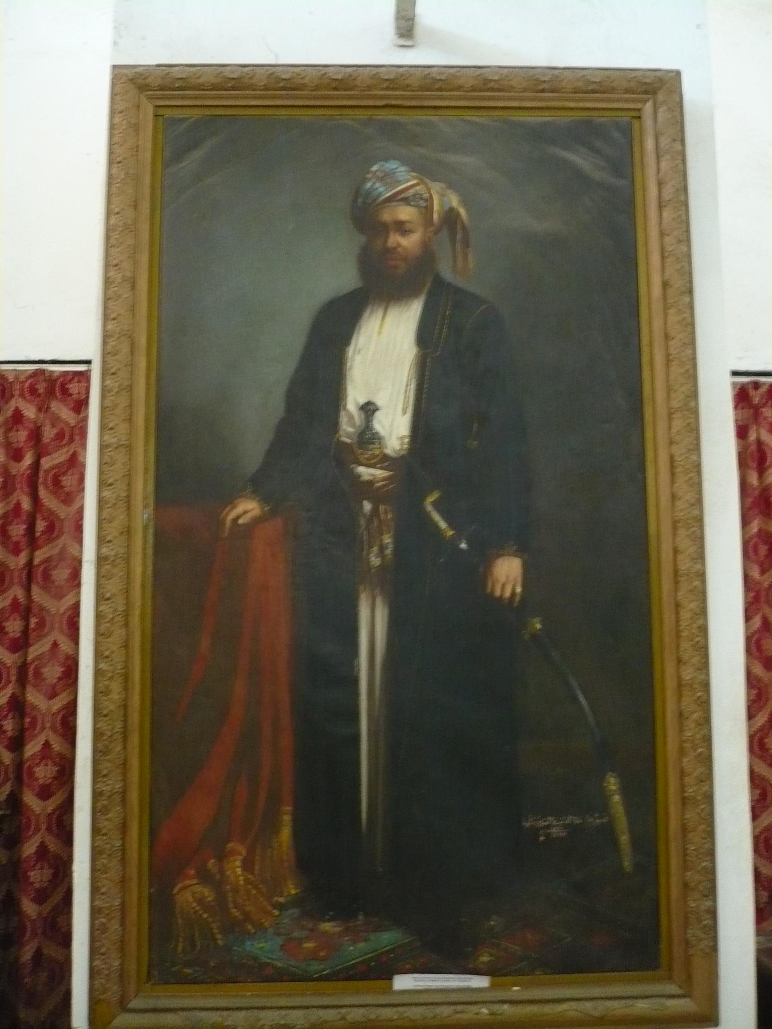 Sultant Bargash of Zanzibar